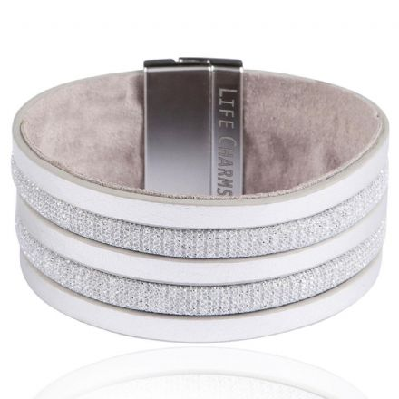 Light Grey Colour Wrap Bracelets